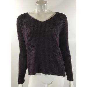 Eileen Fisher Womens Sweater Size XS Purple V Neck